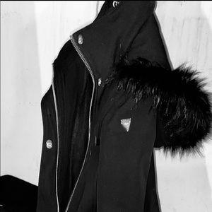 Guess hooded jacket size Medium
